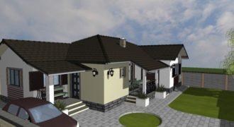 Casa moderna pe nivel, individuala, finisata la cheie, Alba Iulia- Cetate!