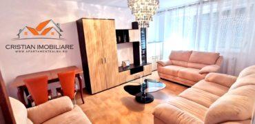 Apartament 3 camere decomanat, mobilat-utilat, Cetate !