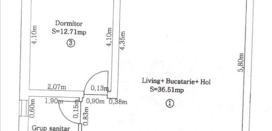 Apartament 2 camere, 53 mp, Centru !!! BLOC NOU