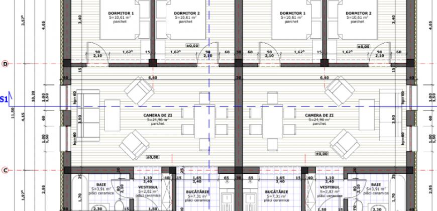 Duplex pe nivel,finisat la cheie, cartier Arex, zona Ampoi 3