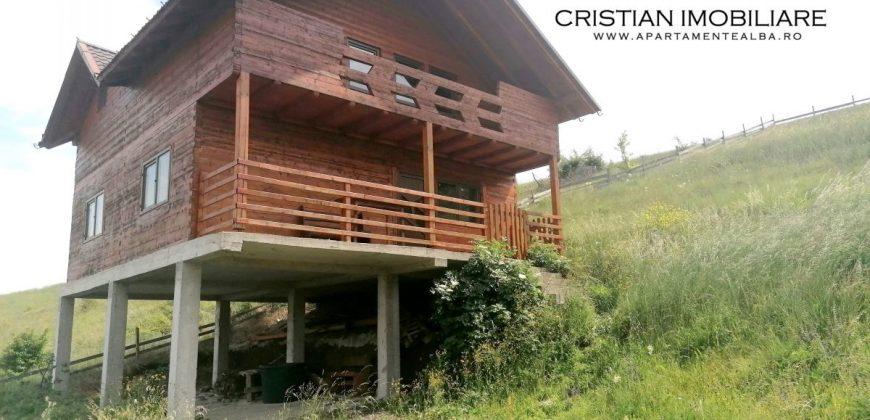 Casa individuala din lemn, Alba-Micesti, 1320 mp teren