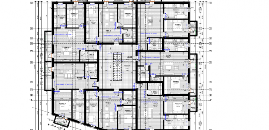 Apartamente 2 camere, decomandate, Cetate-Skit, bloc nou, etajul 1